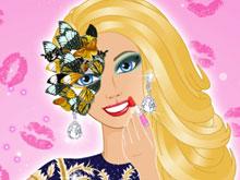 barbie glam ball makeup game