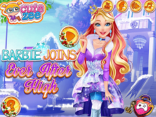 barbie joins ever after high game