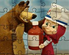 masha and the bear fun time game