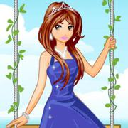 princess in the garden game