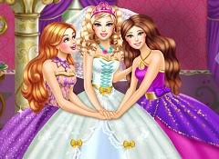 super barbie bride game